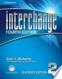 Interchange Level 2 Teacher S Edition With Assessment Audio Cd Cd Rom