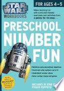 Star Wars Workbook, Preschool Number Fun