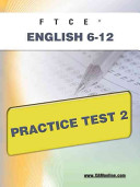 Ftce English 6 12 Practice Test 2
