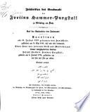 Inschriften des Grabmals der ?? Hammer-Purgstall zu Weidling am Bach