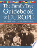 download ebook the family tree guidebook to europe pdf epub