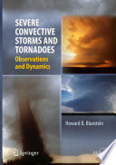 Severe Convective Storms And Tornadoes book
