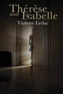 Thérèse and Isabelle by Violette Leduc