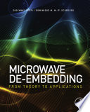 Microwave De embedding
