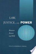 Law  Justice  and Power