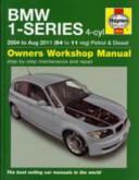 Service and Repair Manual for BMW 1 Series