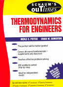 Schaum s Outline of Theory and Problems of Thermodynamics for Engineers