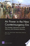 Air Power In The New Counterinsurgency Era