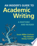 Insider s Guide to Academic Writing