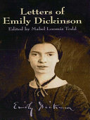 Letters of Emily Dickinson Book
