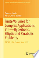 Finite Volumes for Complex Applications VIII   Hyperbolic  Elliptic and Parabolic Problems
