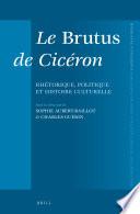 Le Brutus De Cic Ron