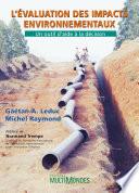 L   valuation des impacts environnementaux