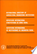 International Directory of Agricultural Engineering Institutions