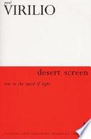 Desert Screen