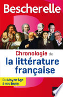 Bescherelle Chronologie de la littérature française