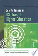 Quality Issues in ICT based Higher Education