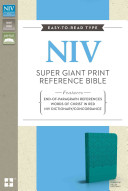 Super Giant Print Reference Bible NIV