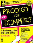 download ebook prodigy for dummies pdf epub