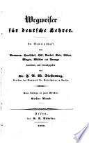 Wegweiser für deutsche Lehrer