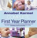 download ebook annabel karmel's complete first year planner pdf epub