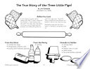 The True Story of the Three Little Pigs   Pigs in a Blanket Recipe