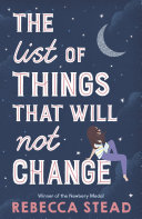 The List of Things That Will Not Change Book PDF