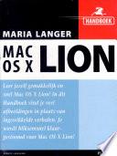 Handboek Mac Os X Lion Druk 1