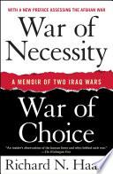 War of Necessity  War of Choice