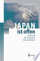 Japan ist offen