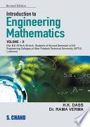 Introduction to Engineering Mathematics   II  MMTU GBTU