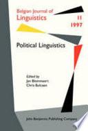 Political Linguistics
