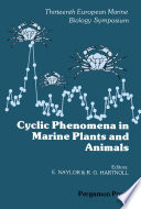 Cyclic Phenomena in Marine Plants and Animals