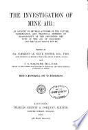 The Investigation of Mine Air