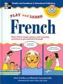 Play and Learn French  Book   Audio CD