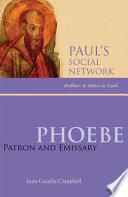 Phoebe Of Phoebe Of Kenchreai We
