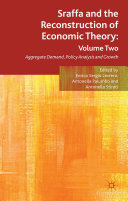 Sraffa and the Reconstruction of Economic Theory: Volume Two