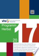 KVHS Programmheft 2017