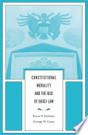 Constitutional Morality and the Rise of Quasi Law