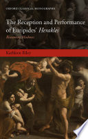 Ebook The Reception and Performance of Euripides' Herakles Epub Kathleen Riley Apps Read Mobile