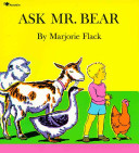 Ask Mr. Bear Marjorie Flack Cover