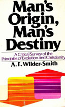 Man s Origin  Man s Destiny