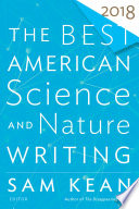 Book The Best American Science and Nature Writing 2018