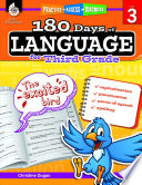 180 Days of Language for Third Grade  Practice  Assess  Diagnose