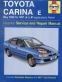 Toyota Carina E Service And Repair Manual
