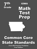 Iowa 7th Grade Math Test Prep