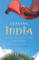 Leaving India