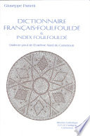 Dictionnaire Fran  ais Foulfould   and index Foulfould