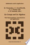 Lie Groups And Lie Algebras book