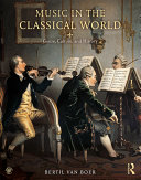 Music in the Classical World Book